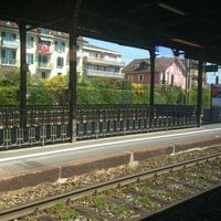 Photo taken at Gare de Renens by Auria S. on 4/25/2013