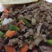 Photo taken at Super Tacos Pirata Saul by jorgelugo on 1/27/2015