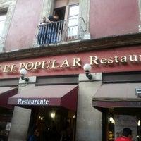 Photo taken at Café El Popular by Lorena V. on 1/27/2013