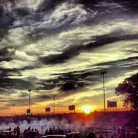 Photo taken at Old Bridge Township Raceway Park by Angel T. on 10/14/2012