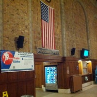 Photo taken at Poughkeepsie Station - Metro North & Amtrak by Mike L. on 1/2/2013
