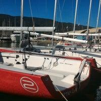 Photo taken at Marina Di Cala Galera by Damiano C. on 10/17/2015