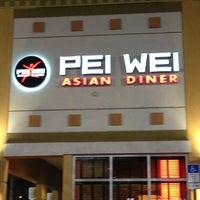 Photo taken at Pei Wei by Luke P. on 2/23/2013