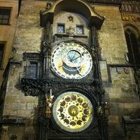 Photo taken at Prague Astronomical Clock by Poyraz T. on 2/17/2013