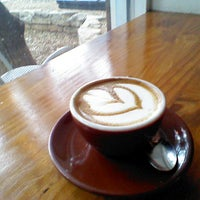 Photo taken at Once Over Coffee Bar by John E. on 4/17/2013
