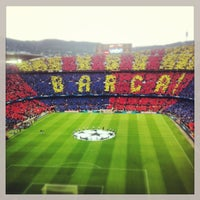 Photo taken at Camp Nou by Jaume M. on 5/1/2013