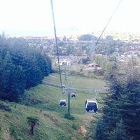 Photo taken at Skyline Rotorua Gondola by Maze R. on 4/6/2014
