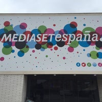 Photo taken at Mediaset España Comunicación by Florian W. on 4/20/2016