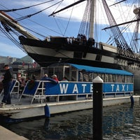 Photo taken at Water Taxi Landing 2 - Harborplace by Carmella D. on 11/23/2012