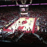 Photo taken at Bud Walton Arena by Alisha C. on 1/6/2013