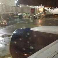 Photo taken at Gate D2 by Steffano M. on 1/15/2013
