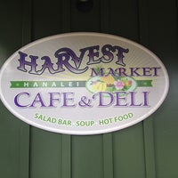 Photo taken at Harvest Market Cafe & Deli Hanalei by Krista M. on 2/19/2014