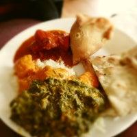 Photo taken at Seva Indian Cuisine by tomomi C. on 5/18/2013