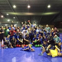 Photo taken at JPS Futsal Ampang by NAQSZADA on 4/16/2015