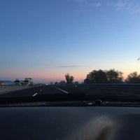 Photo taken at Autostrada A13 by Gabriele R. on 10/26/2015