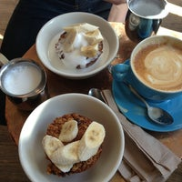 Photo taken at Bluebird Coffee Shop by Job P. on 3/9/2013