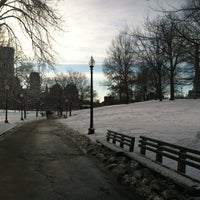 Photo taken at Boston Common by Julie H. on 12/30/2012
