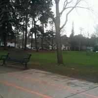 Photo taken at Burton Park by Silja T. on 1/24/2013