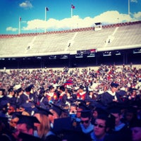 Photo taken at Franklin Field by Talia G. on 5/12/2013