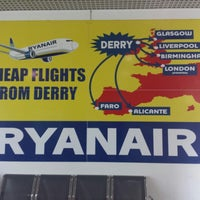 Photo taken at City of Derry Airport (LDY) by Rue on 3/23/2015