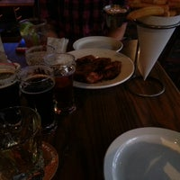 Photo taken at BRB Brewery + Eatery by Chris K. on 2/28/2013