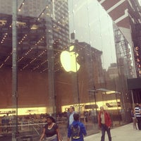 Photo taken at Apple Upper West Side by Anderson M. on 10/3/2012