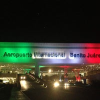 Photo taken at Mexico City International Airport (MEX) by Diana H. on 9/27/2013