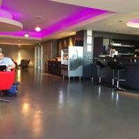 Photo taken at Virgin Atlantic Clubhouse Lounge by Don C. on 3/11/2013