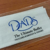 Photo taken at Dad's World Buffet by Rina R. on 6/22/2013