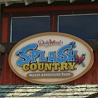 Photo taken at Dollywood's Splash Country by Gregg C. on 7/23/2016