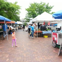 Photo taken at Mt. Pleasant Farmer's Market by Anna J. on 5/11/2013