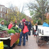 Photo taken at Mt. Pleasant Farmer's Market by Anna J. on 11/10/2012