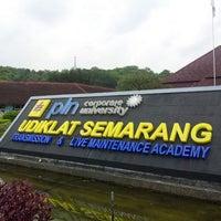 Photo taken at PT PLN (Persero) Udiklat Semarang by Muhar A. on 5/21/2014