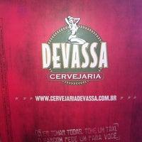 Photo taken at Cervejaria Devassa by Amanda G. on 12/31/2012
