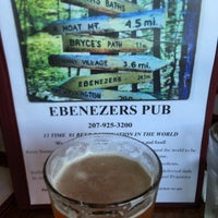 Photo taken at Ebenezer's Pub by Brewer S. on 8/5/2016