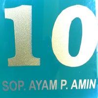 Photo taken at Sop Ayam P. Amin by AL E. on 6/20/2013