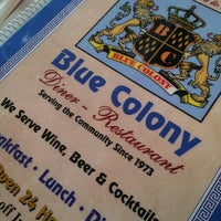 Photo taken at Blue Colony Diner by mike larry draw on 3/24/2013