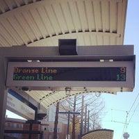 Photo taken at Victory Station (DART Rail / TRE) by John U. on 3/17/2014