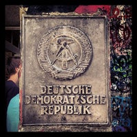 Photo taken at H Kochstr./Checkpoint Charlie by Dafydd D. on 7/15/2013
