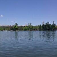 Photo taken at Lago de la Casa de Campo by Nacho H. on 5/3/2013