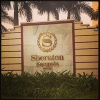 Photo taken at Sheraton Kampala Hotel by Rødney ا. on 7/10/2013