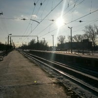 Photo taken at Платформа Хорошово by Дашка Ш. on 12/26/2014