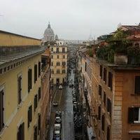 Photo taken at Hotel Condotti by Fabio G. on 2/2/2014