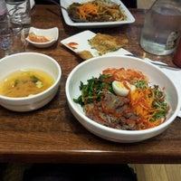 Photo taken at Bibimbap Cafe by Anna B. on 1/3/2013