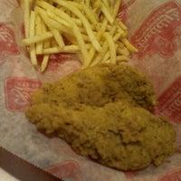 Photo taken at Freddy's Frozen Custard & Steakburgers by -Yvonne M. on 2/9/2014