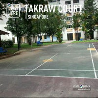 Photo taken at Badminton Court by KýlęAārön🌹 ك. on 2/5/2013