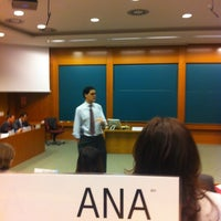 Photo taken at IESE Business School by Ana L. on 11/26/2012