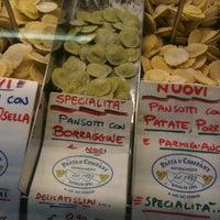 Photo taken at Mercato dei Contadini by Matteo F. on 1/25/2013