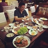 Photo taken at Hyang-to-gol Korean Restaurant by Dennis Tuan P. on 4/11/2015