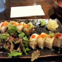 Photo taken at Crazy Mike's Sushi by Greg on 11/4/2012